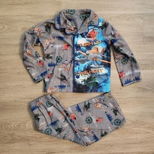 Disney Planes Toddler Button Pajamas